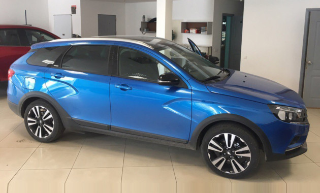 Свежие фото: LADA Vesta SW Exclusive!